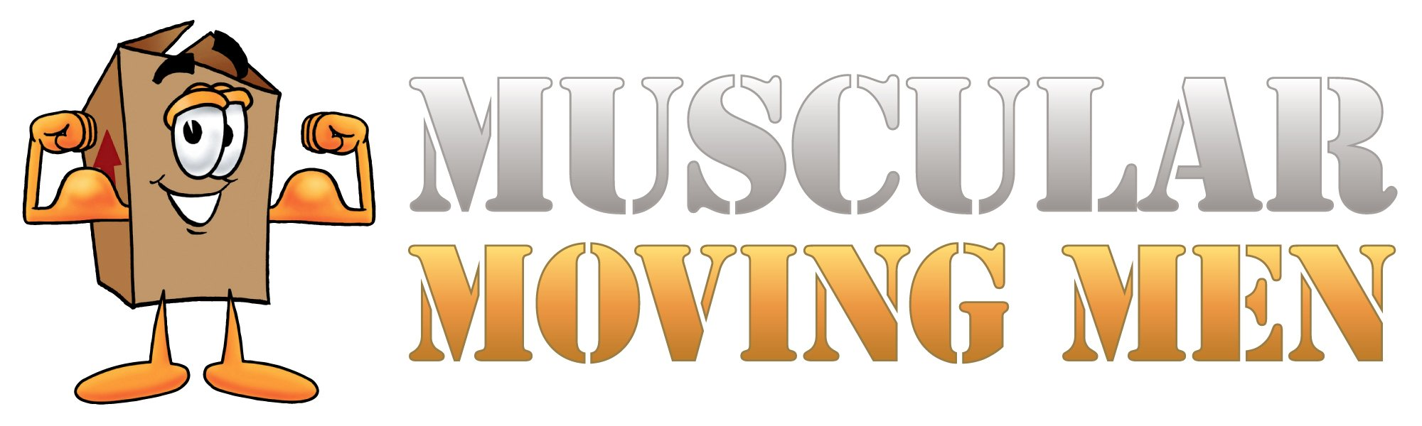 Muscular Moving Men Logo