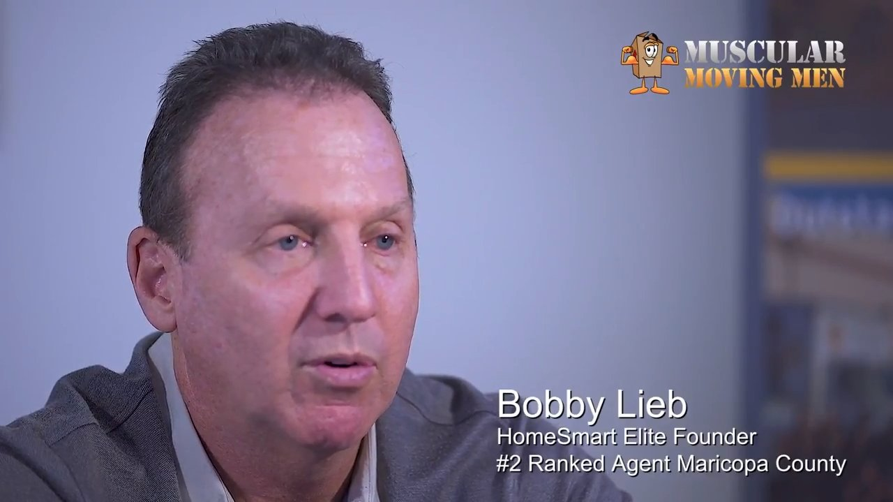 Bobby Lieb HomeSmart Elite Founder - Muscular Moving Men